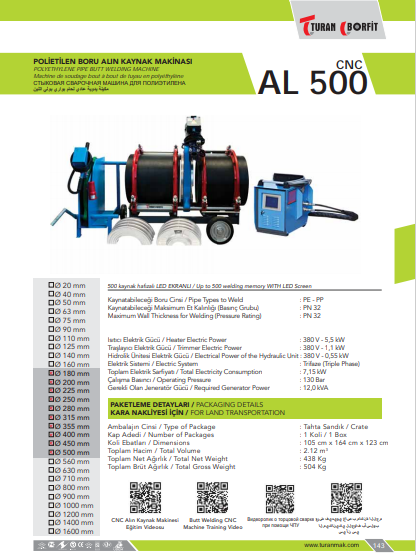 AL-500-CNC-POLIETILEN-ALIN-QAYNAQ-APARATI