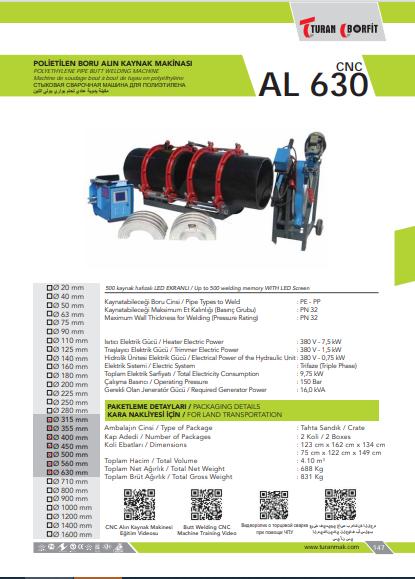 AL-630-CNC-POLIETILEN-ALIN-QAYNAQ-APARATI